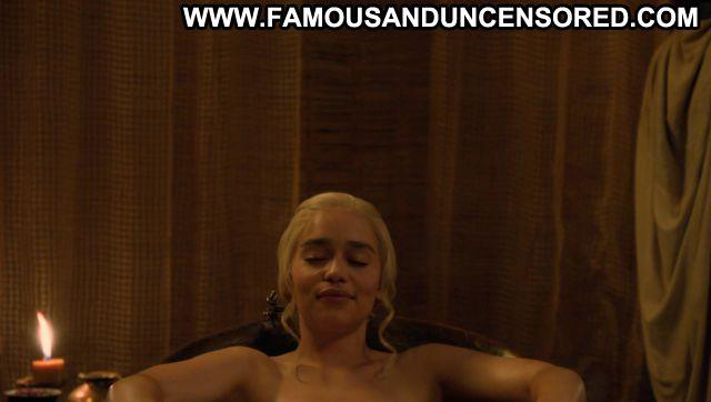 Emilia Clarke Nude Game Of Thrones Sexy Scene Famous Nude Sexy