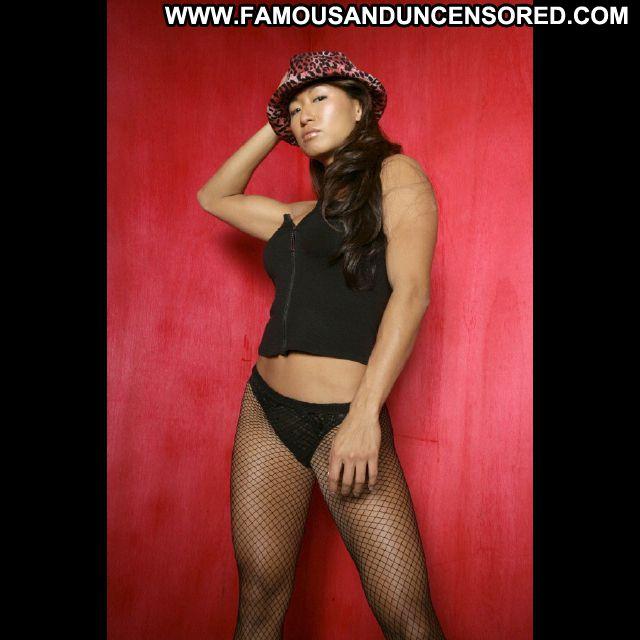 Gail Kim No Source Famous Ass Posing Hot Celebrity Lingerie Asian