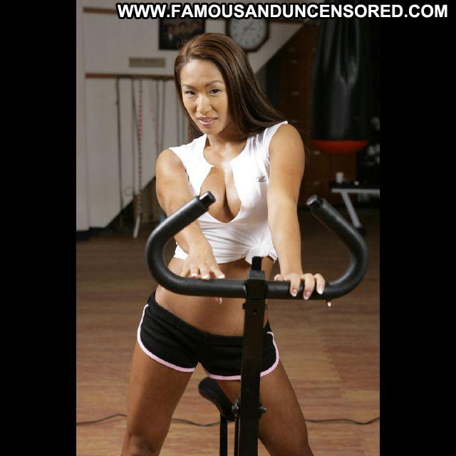 Gail Kim No Source Babe Celebrity Posing Hot Famous Bikini Posing Hot