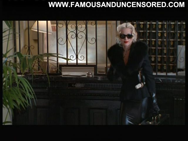 Madonna 4 Rooms Latex Leather Singer Blonde Showing Tits Hot