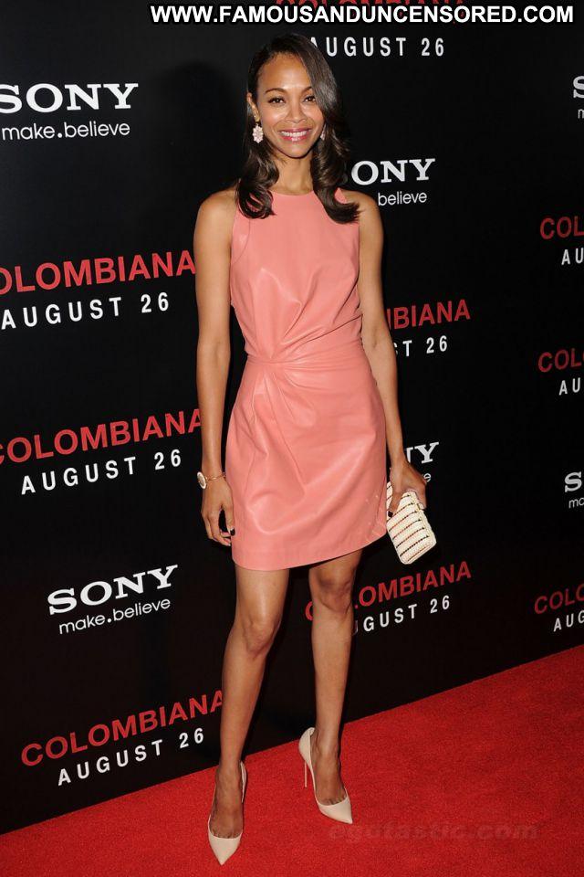 Zoe Saldana No Source Celebrity Posing Hot Ebony Sexy Hot Sexy Dress