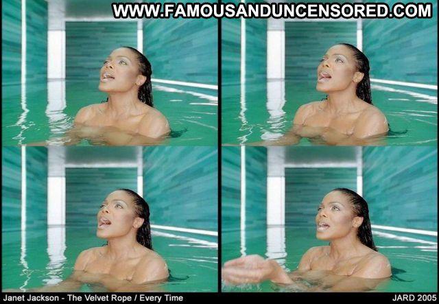 Janet Jackson No Source Bikini Posing Hot Lingerie Famous Cute Ebony