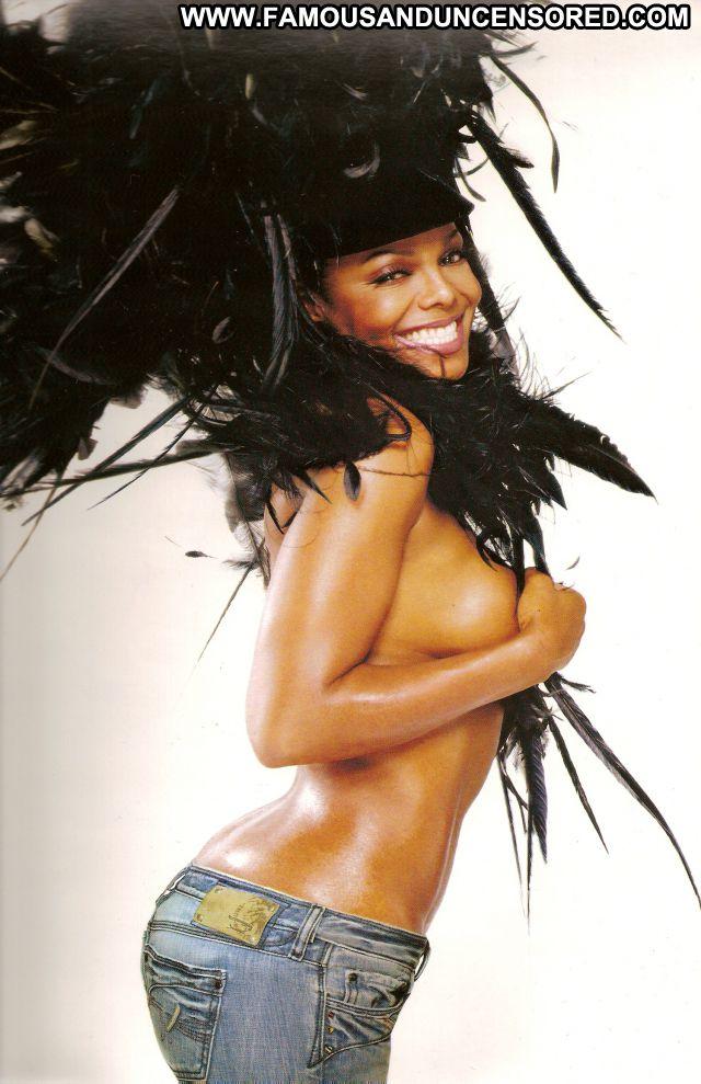 Janet Jackson No Source Cute Babe Celebrity Hot Posing Hot Lingerie