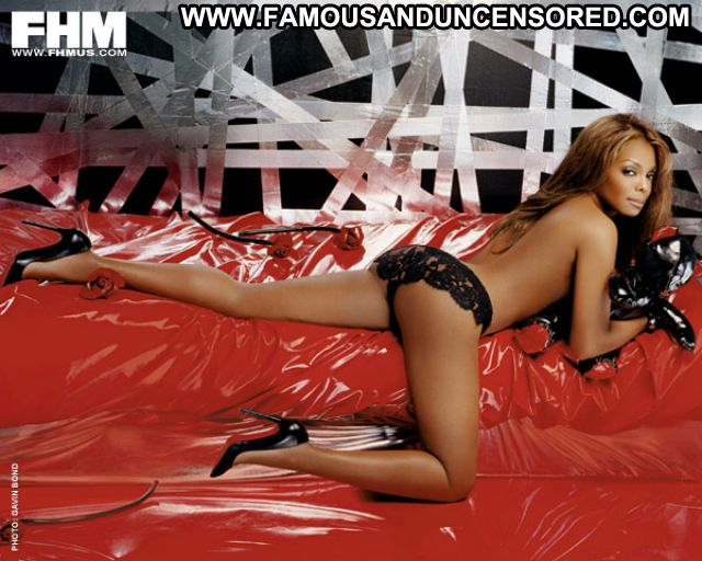 Janet Jackson No Source Babe Bikini Lingerie Posing Hot Cute Famous