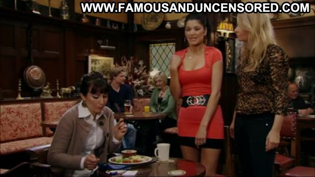 Natalie Anderson No Source Sexy Dress Brunette Famous Latina Posing