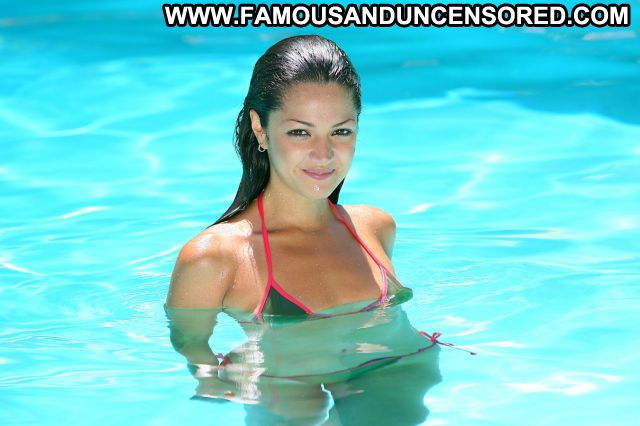 Paula Garces No Source Latina Posing Hot Celebrity Bikini Cute Famous