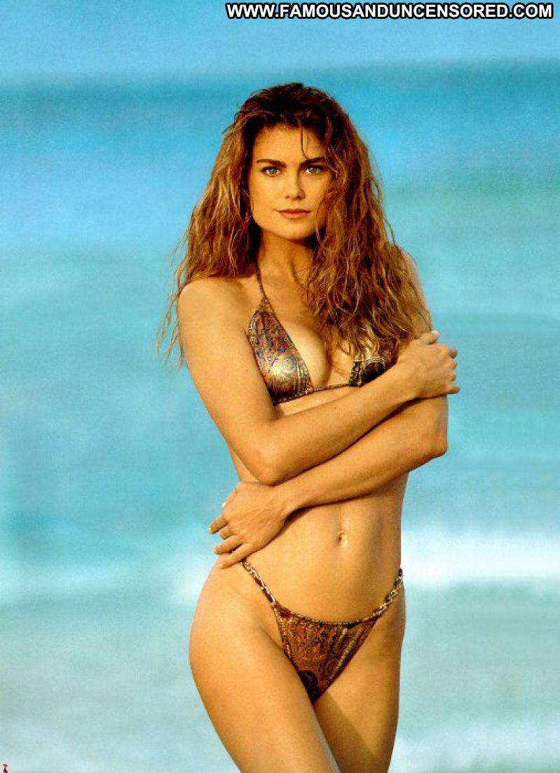 Kathy Ireland No Source Celebrity Posing Hot Babe Brown