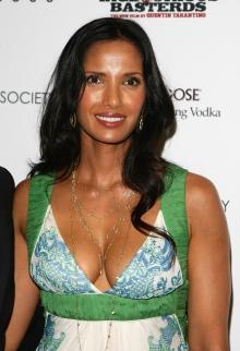 Padma Lakshmi No Source Celebrity Beautiful Babe Posing