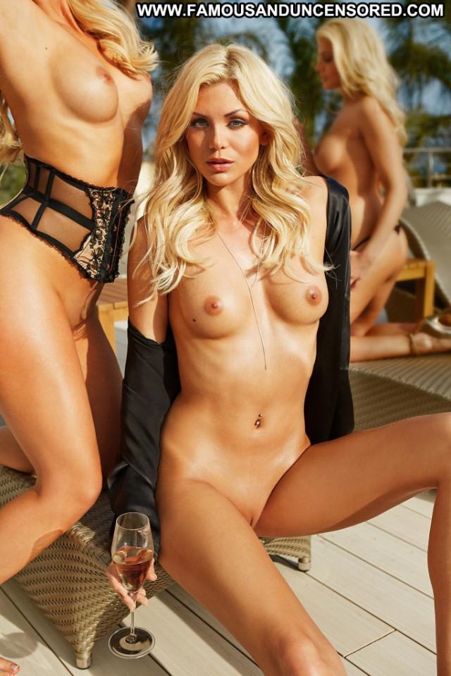 Carly Lauren D Mode Blonde Office Babe Bombshell Police Teen