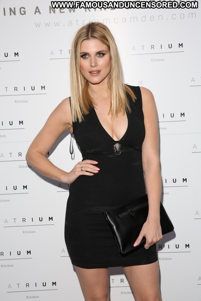Ashley James Topless Photoshoot Bra Hot Model Celebrity Actress