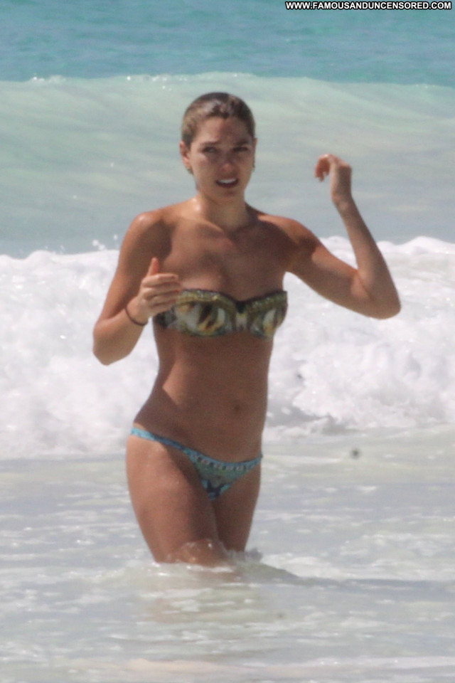 Michelle Hunziker Topless Photoshoot Husband Mexico Topless Candid
