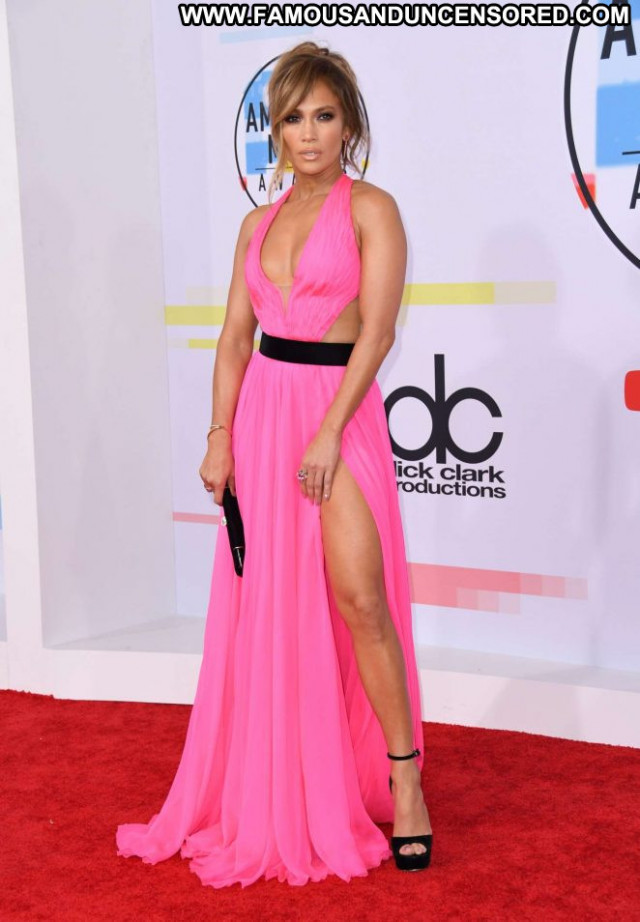Jennifer Lopez American Music Awards Beautiful Angel American Posing