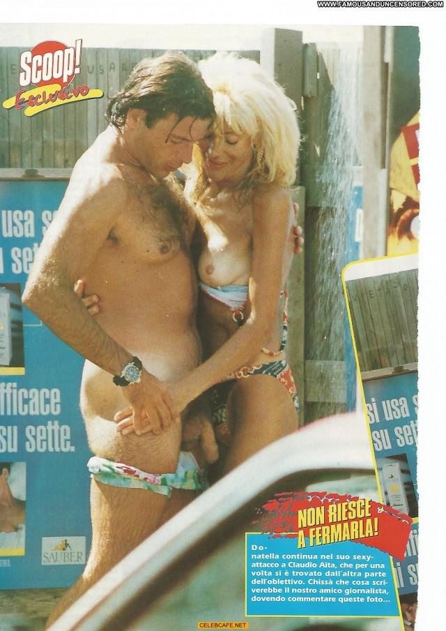 Donatella Rettore No Source Beach Nude Posing Hot Singer Babe