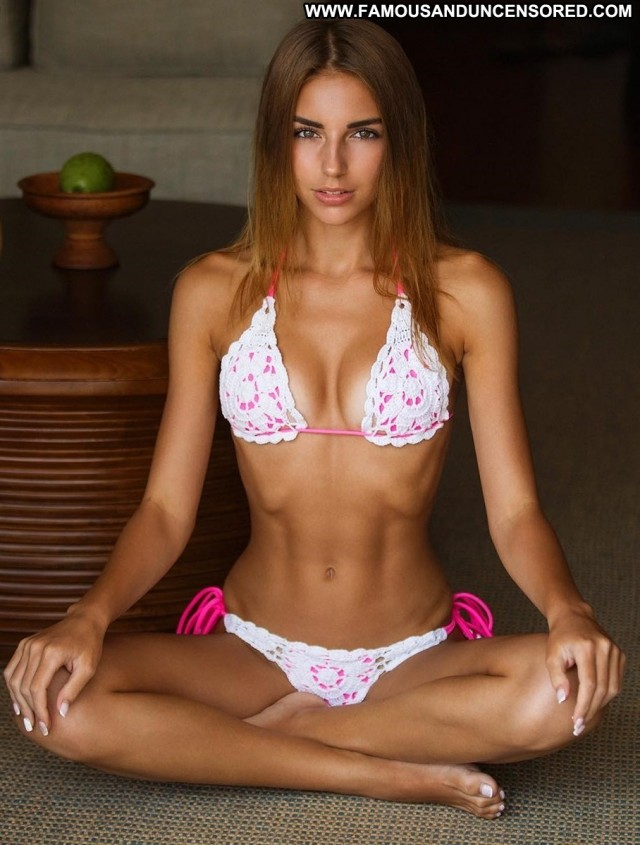 Galina Dub The Floor Muscular Bikini Floor Bra Nude Beautiful Panties