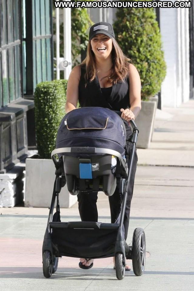 Eva Longoria Beverly Hills Celebrity Paparazzi Beautiful Babe Posing