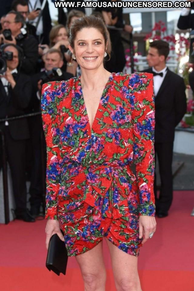 Chiara Mastroianni Cannes Film Festival Paparazzi Babe Posing Hot