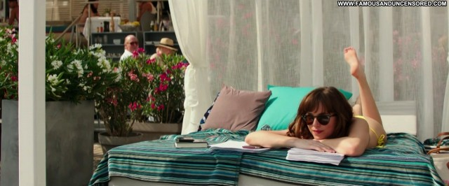 Dakota Johnson No Source Actress Lingerie Panties Shower Pantyhose