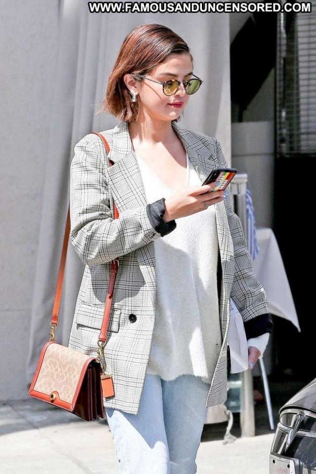 Selena Gome Beverly Hills Celebrity Posing Hot Beautiful Babe