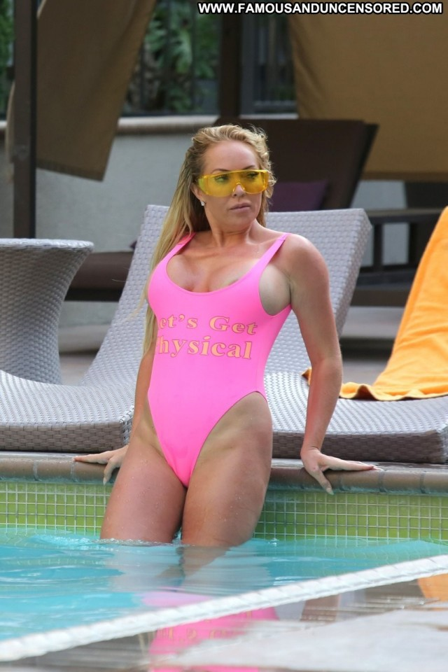 Aisleyne Horgan Los Angeles Beautiful Sexy Sex Big Tits Desi Poolside