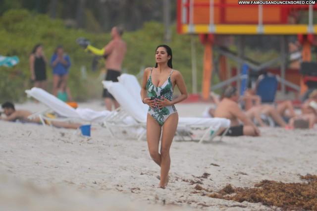 Diane Guerrero The Beach Swimsuit American Old Celebrity Beautiful
