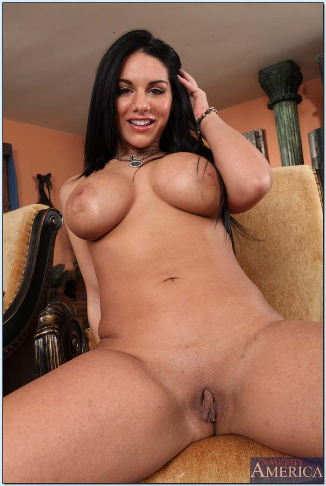 Presents: Busty Pornstar Babe Bella Reese Fingers her Pussy: www.famousanduncensored.com/galleries/naughtyamerica/bella-reese...