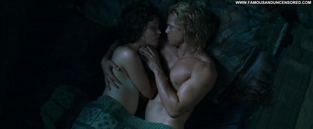 Diane Kruger Troy Sex Scene Celebrity Sex Breasts Movie Famous Nude