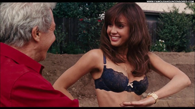 Jessica Alba Little Fockers Celebrity Panties Skirt Shirt Bra