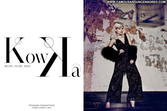 Anja Konstantinova Tangent Magazine 8 Posing Hot Celebrity
