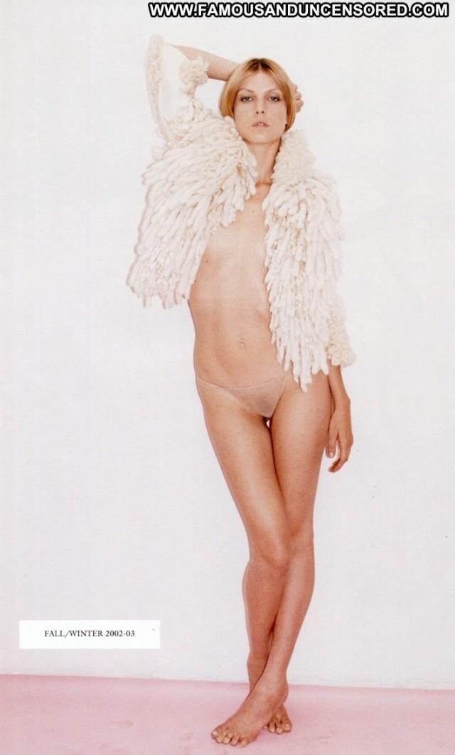 Angela Lindval Purple Magazine   F W Celebrity Posing Hot