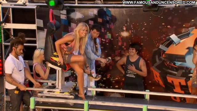 Barbara Franco Tv Show Celebrity Shower Posing Hot Babe Barbie