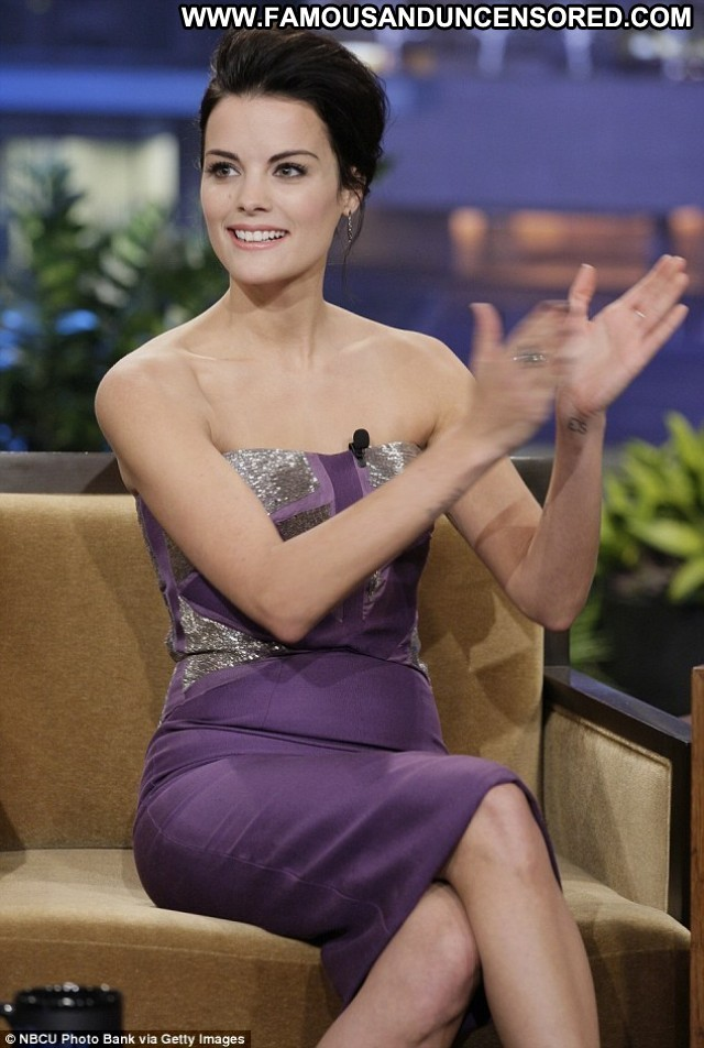Jaimie Alexander The Tonight Show With Jay Leno High Resolution Babe