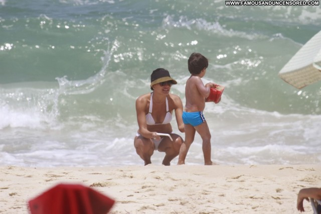 Juliana Knust The Beach Beach High Resolution Posing Hot Babe