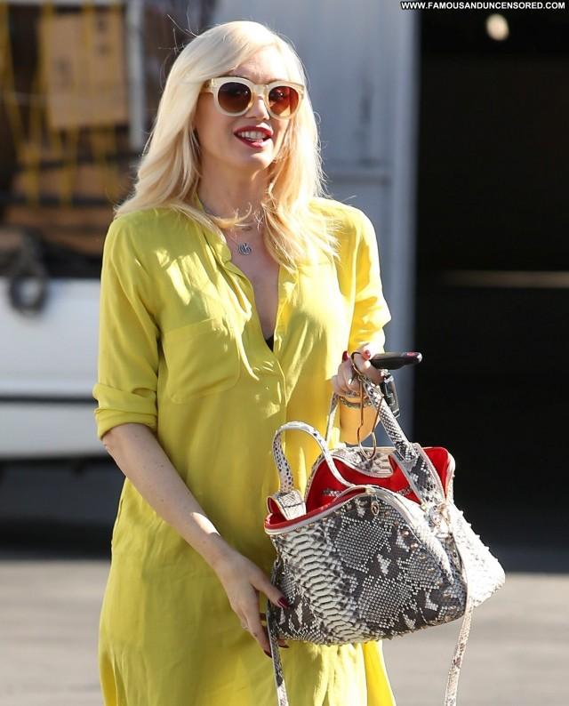 Gwen Stefani Los Angeles High Resolution Beautiful Posing Hot Los