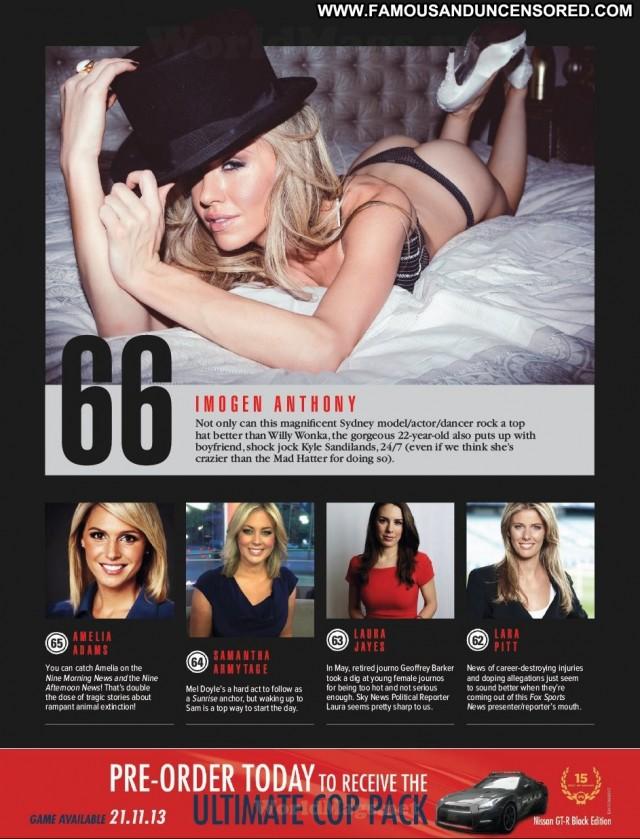 Jennifer Hawkins Australia Magazine Posing Hot High Resolution