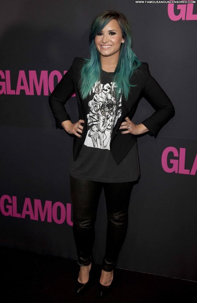 Demi Loavato Magazine High Resolution Glamour Magazine Posing Hot
