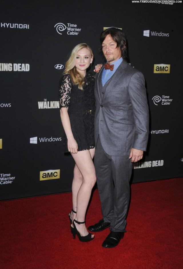 Emily Kinney The Walking Dead Celebrity Beautiful High Resolution