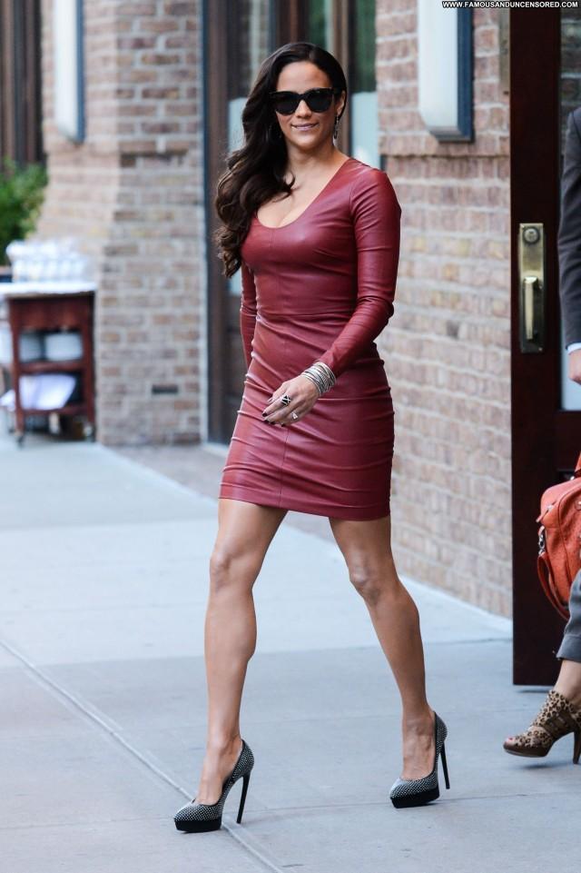 Paula Patton New York Beautiful New York Posing Hot Babe Celebrity