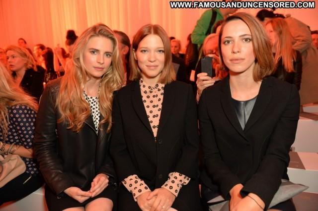 Lea Seydoux Fashion Show  Celebrity High Resolution Fashion Babe