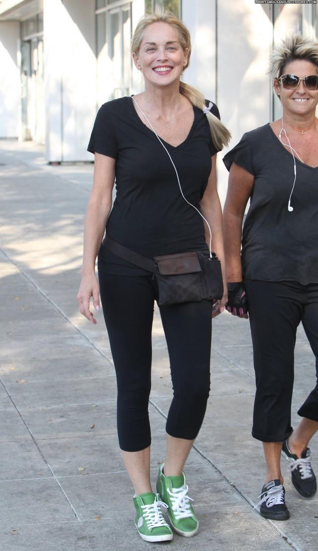 Sharon Stone West Hollywood Babe Posing Hot West Hollywood Celebrity