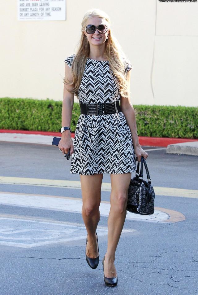 Paris Hilton West Hollywood Beautiful Shopping High Resolution