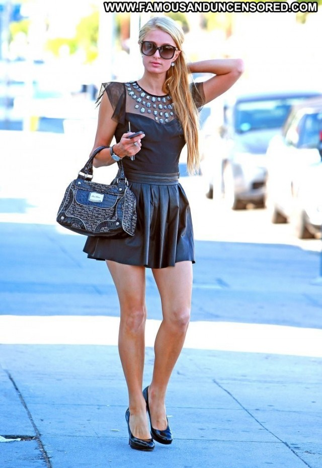Paris Hilton West Hollywood Candids Posing Hot Beautiful Celebrity