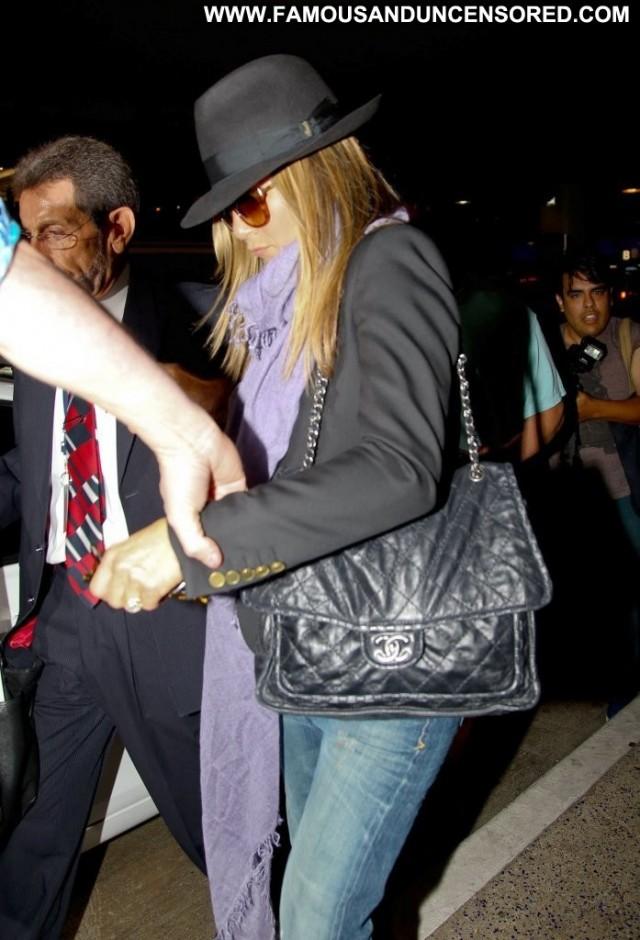 Jennifer Aniston Lax Airport Beautiful Posing Hot Babe Lax Airport