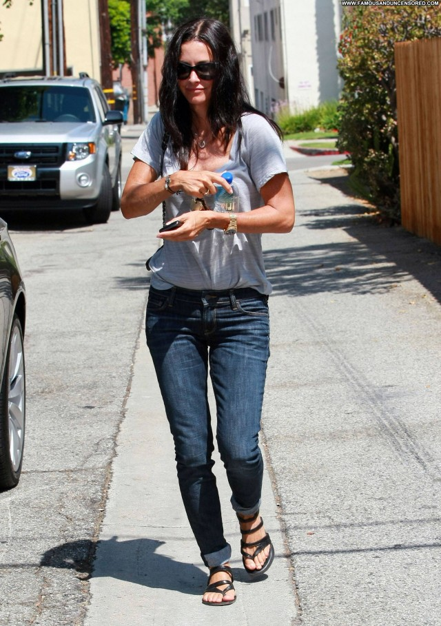 Courteney Cox No Source Friends Celebrity Beautiful Babe High