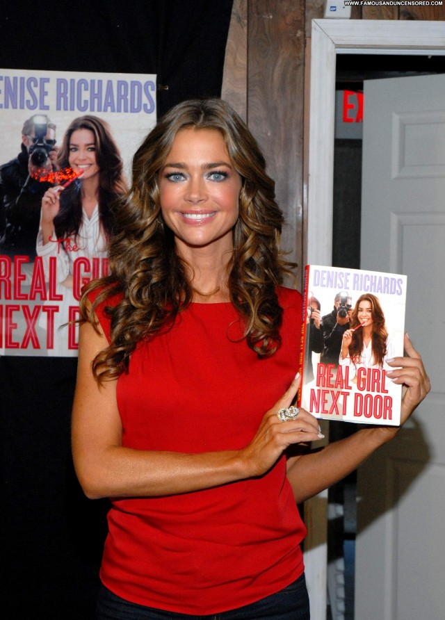 Denise Richards Girl Next Door Beautiful Babe Celebrity High