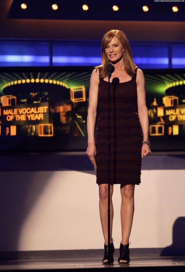 Marg Helgenberger Academy Of Country Music Awards Babe Posing Hot