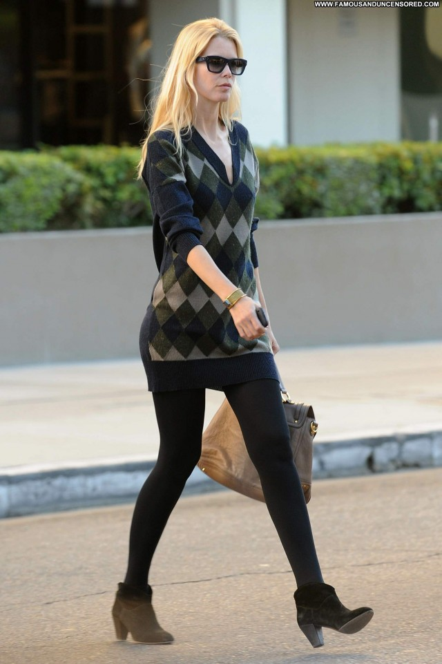 Claudia Schiffer West Hollywood Posing Hot Beautiful Babe High