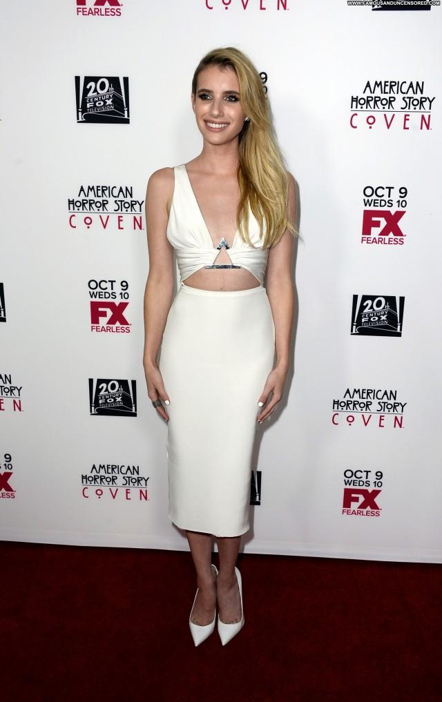 Emma Roberts American Horror Story Babe Horror Posing Hot Beautiful