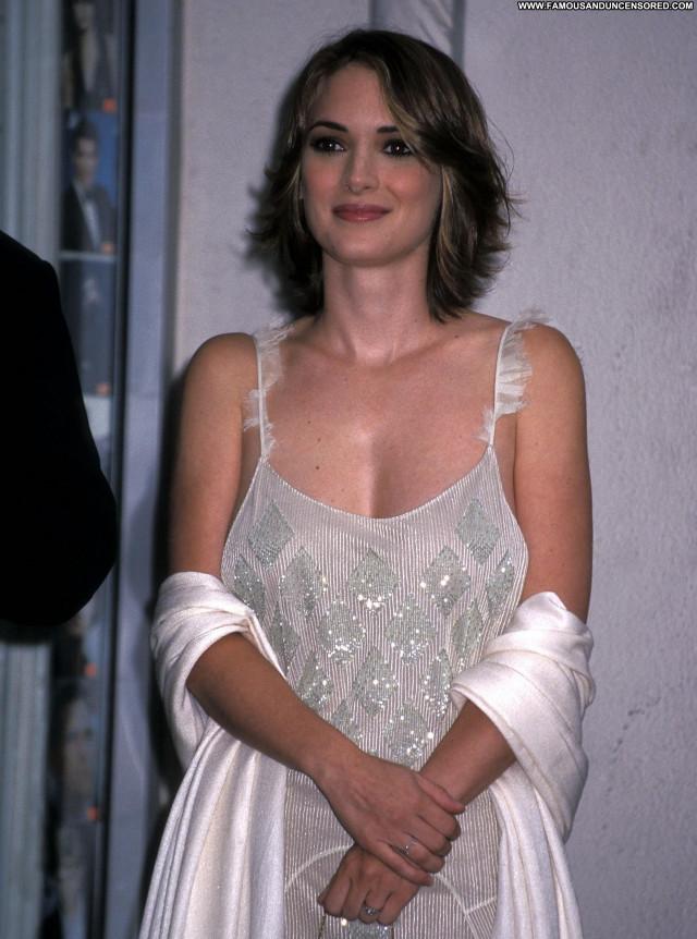 Winona Ryder Hollywood Walk Of Fame Celebrity Posing Hot