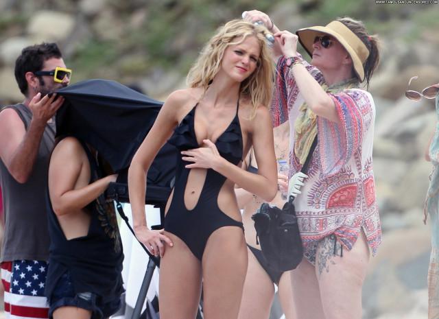 Erin Heatherton Photo Shoot France Posing Hot Beach High Resolution