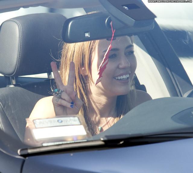 Miley Cyrus West Hollywood Posing Hot Beautiful West Hollywood High